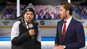 Lazlo Holmes questions Henrik Lundqvist on his style [Video]