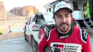 Toyota Gazoo Racing 2020 Dakar Test - Interview Fernando Alonso [Video]