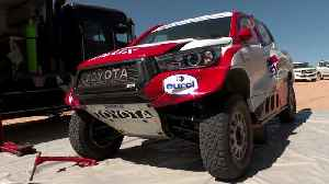 Toyota Gazoo Racing 2020 Dakar Test - Fernando Alonso in Toyota Hilux [Video]