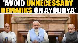 PM cautions cabinet ahead of Ayodhya verdict | Oneindia News [Video]