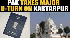 Pakistan army says Indian sikh pilgrims will require passport to visit Kartarpur | OneIndia News [Video]