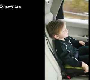 Adorable three-year-old boy sings famous Liverpool football song perfectly in the car [Video]