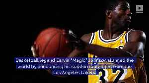 This Day in History: Magic Johnson Announces He Has HIV [Video]
