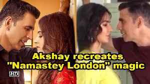 News video: Akshay recreates