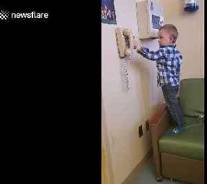 Little boy battling leukemia needs Spider-Man to pick up the phone [Video]
