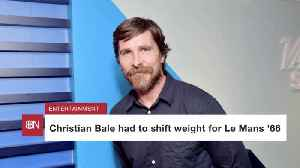 Christian Bale Changes Weight Again [Video]