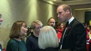 Duke of Cambridge attends London Air Ambulance charity gala [Video]