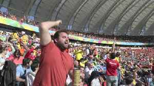 Eli's Aussie Army - Most Passionate Fans at The World Cup! | #EliInBrazil [Video]