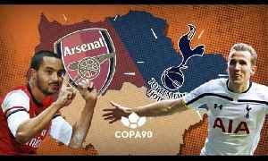Arsenal vs Tottenham - The Battle For North London | Animation [Video]