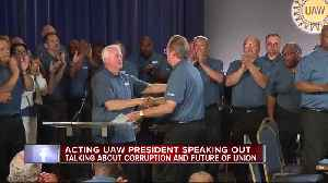 Acting UAW president speaking out about corruption and future of union [Video]