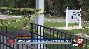 Polk Co. pastor concerned about fire code after latest tornado [Video]
