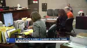Milwaukee man charged with hate crime after acid attack [Video]