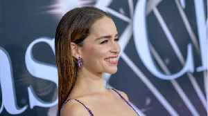 Emilia Clarke Said She Finds Her Eyebrows 'Deeply Infuriating' [Video]