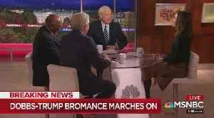 Chris Matthews mocks Lou Dobbs and President Trump [Video]