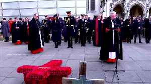 News video: Meghan's first visit to Westminister Abbey's Field of Remembrance