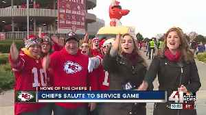 Chiefs fans tailgate [Video]