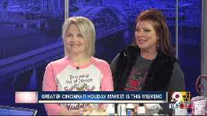 2019 Greater Cincinnati Holiday Market is November 8-10th [Video]
