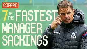 7 Insanely Quick Manager Sackings [Video]