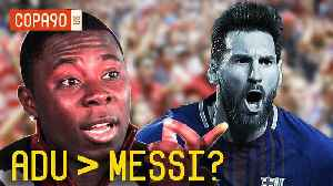 Remember When Freddy Adu Was Better Than Messi? [Video]