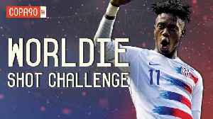 Can PSG x USMNT Star Tim Weah Recreate His Father's Best Goals?   Shot Challenge [Video]