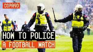 How To Police a Football Match: AIK - Hammarby [Video]