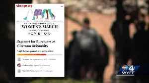 Clemson group asks administration for more resources for assault survivors [Video]