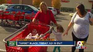 News video: Don't Waste Your Money: Target releases Black Friday deals