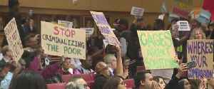 Dozens speak up about proposed homeless ordinance [Video]