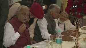 Amarinder Singh, Dushyant Chautala attend Kartarpur Corridor song release event [Video]