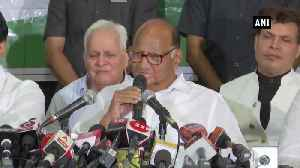 News video: BJP, Shiv Sena are together for 25 years, will join hands again eventually Sharad Pawar