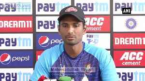 Boys are very energetic after winning first match Bangladesh skipper [Video]