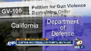News video: Petition suggests DOD standards don't translate into states mental health evaluation, treatment laws