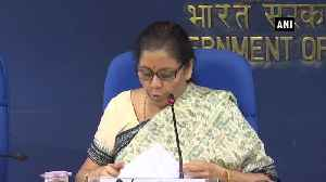 Nirmala Sitharaman announces special window to provide funds for stalled housing projects [Video]
