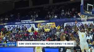 News video: Kent State Basketball player with autism makes history