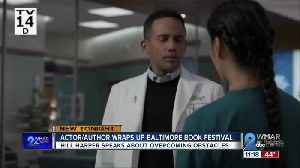 Actor, author Hill Harper wraps up the Baltimore Book Festival [Video]