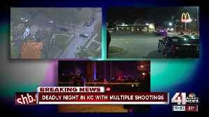 3rd Kansas City homicide occurs in less than 5 hours [Video]