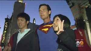 News video: 'Hollywood Superman' Christopher Dennis, Longtime Walk Of Fame Fixture, Dead At 52