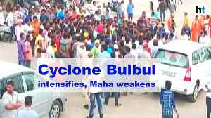 News video: Cyclone Bulbul likely to become cyclonic storm, Maha weakens