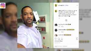 Will Smith has pre-cancerous polyp removed in first colonoscopy [Video]