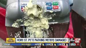 More than 70 parking meters damage in St. Pete, vandals wanted [Video]