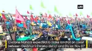 Cyclone Maha to cross Gujarat coast on Nov 7 IMD [Video]