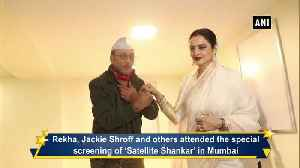 B Town celebs attend special screening of Satellite Shankar [Video]