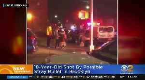 18-Year-Old Shot By Possible Stray Bullet [Video]