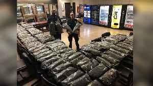 News video: New York Police Department heralds seizure of 106 pounds of Vermont-grown 'marijuana'