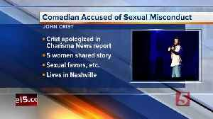 Christian comedian John Crist cancels tour amid sexual harassment allegations [Video]