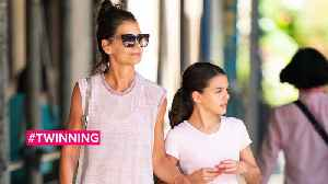 Katie Holmes are daughter Suri are workout buddies [Video]