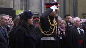 Duke and Duchess of Sussex honour nation's war dead in Westminster [Video]