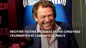 Dominic West to give reading at charity concert [Video]