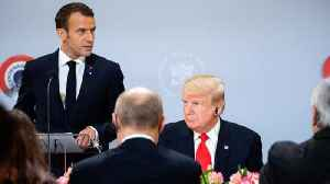 News video: French President Macron Bemoans NATO's 'Brain Death'