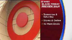 News video: Target's Black Friday Sale Starts Early, In Preview Form